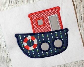 Nautical applique embroidery design ship wheel applique etsy