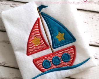 Amazon nautical crochet applique in girly colors set of