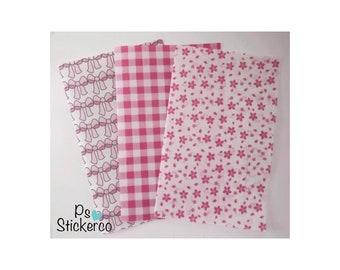 pink vellum paper etsy
