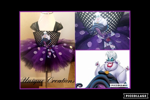 Ursula inspired tutu dress