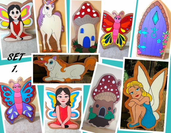 Hire Fairy & Unicorn theme set 1 for your party theme/ gala day decorations