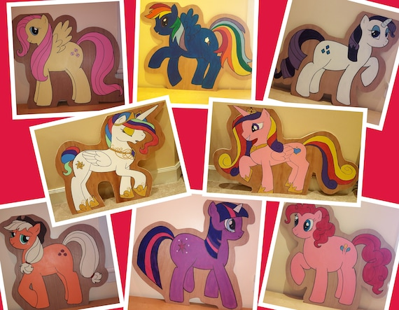 Hire My Little Pony characters for your themed party/ gala day decorations