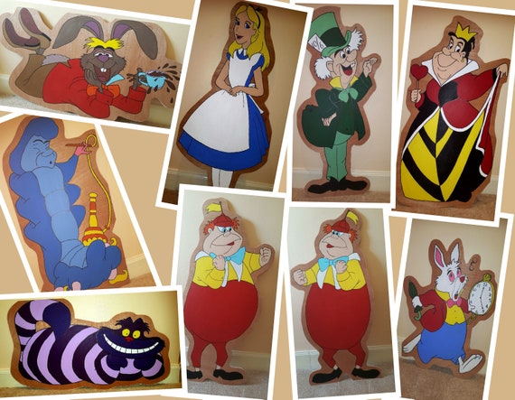 Hire Alice in Wonderland for your party theme / Gala day decorations