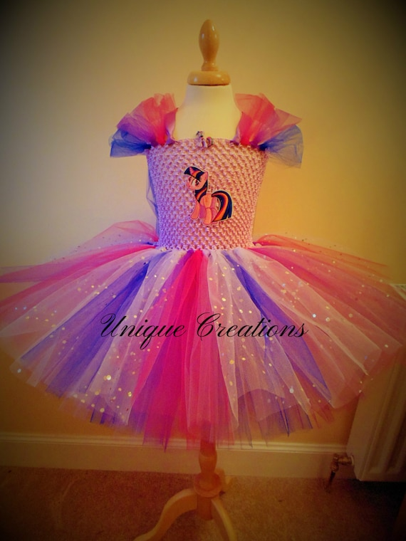 ARIEL DISNEY INSPIRED TUTU BOUTIQUE DRESS FREE SHIPPING SIZE 3 4 5 6 7 8