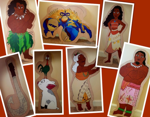 Hire Moana characters for your party theme/ gala day