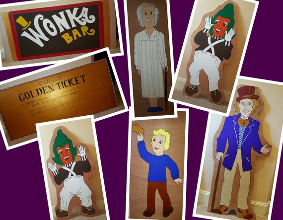 Hire Charlie & The Chocolate factory for your party theme/ gala day decorations