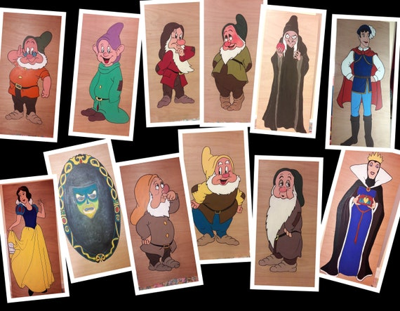 Hire Snow white & The 7 dwarves for your party theme/ gala day decorations