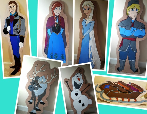 Hire Frozen characters for your party/ gala day theme