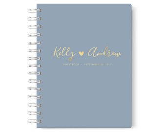 Photo Booth Guest Book, Album Wedding, Photobooth Guestbook, Instant Photo Guest Book, Color Choices Available, GB 109