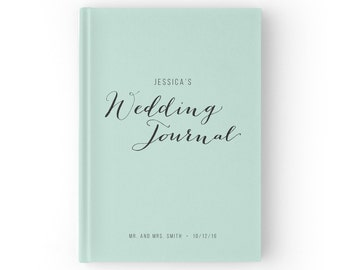 Wedding planner book etsy wedding planner book mint wedding journal bridal book wedding planning book 5 x 7 inches wgb003 junglespirit Choice Image