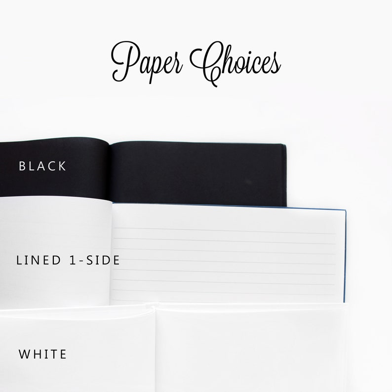 GB 180 Navy Wedding Guest Book Custom Guestbook Navy Blue Wedding Guest Book Silver Foil Wedding Guest Book Color Choices Available