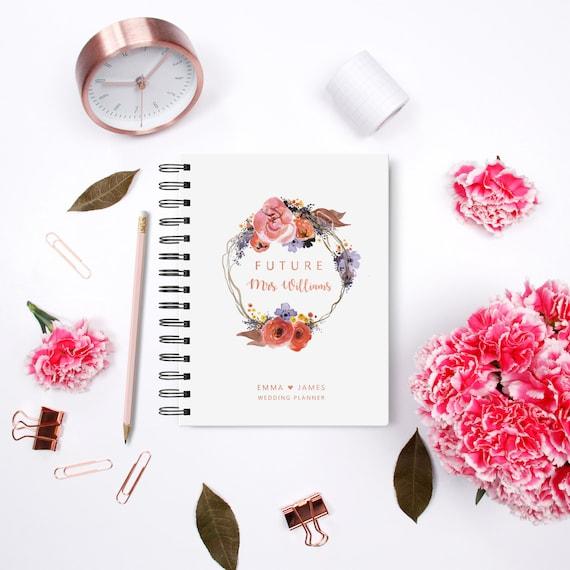 Hochzeits Planer Buch Individuelle Personalisierte Hochzeit Etsy