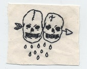 arrow skull patch