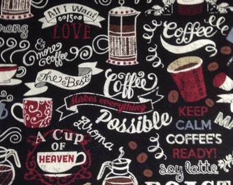 """NEWCASTLE /""""COFFEE TIME/"""" PASTRIES FABRIC /& PANELS MAKE A SELECTION"""