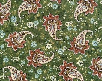 Sale - Half Yard of Fabric - Fall Paisley
