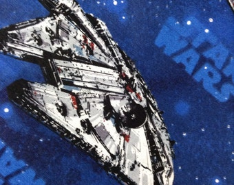 One Fat Quarter of Fabric Material - Star Wars