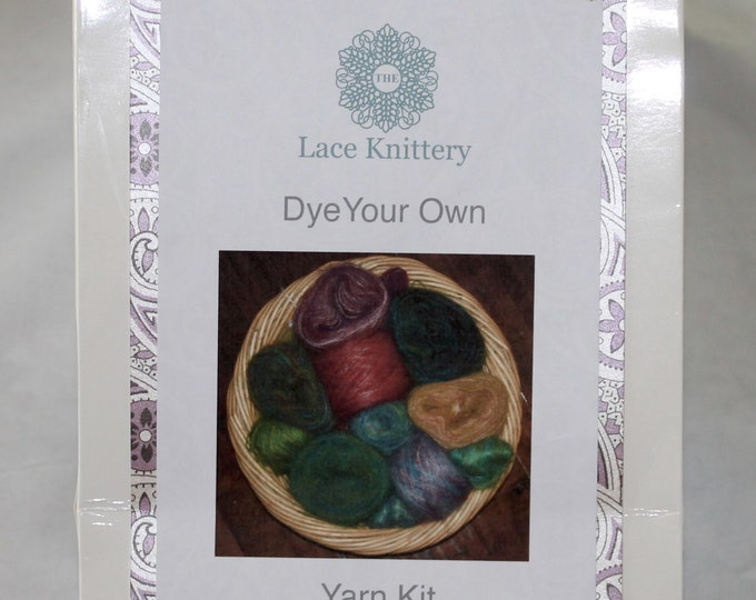 Beginners Dye it Yourself Complete Yarn kit