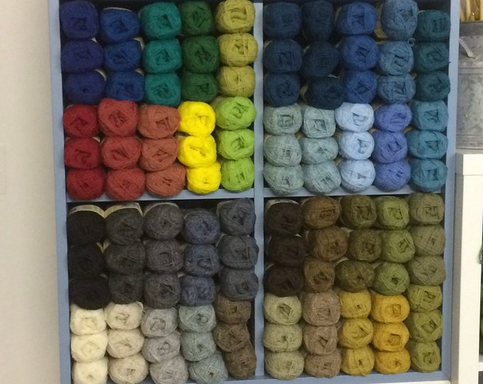 Jamison's of Shetland Spindrift pure Shetland wool in 800 Tartan colour