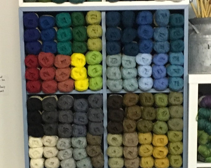 Multiple colours available in Jamieson of Shetland Spindrift Yarn