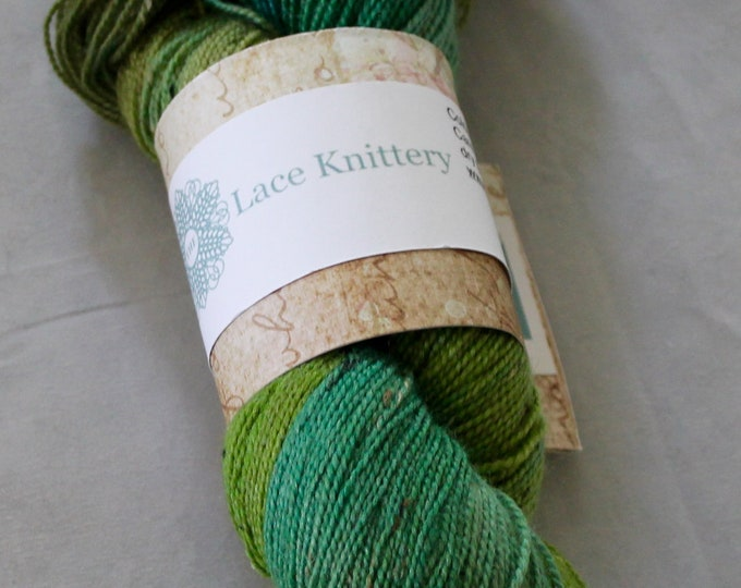 Hand painted DK superwash merino and donegal nep yarn in Exmoor colours