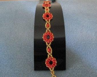 Drop Flower Bracelet