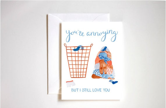 One I Love Go Steady On Gearstick Naughty Valentine/'s Day Card Funny Cards
