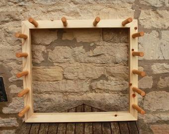 Warping Board - Compact - 5 metre or 5 yard warp length
