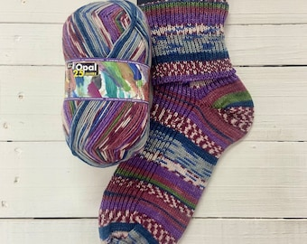 Designs with Passion 11042 - 25 years of Opal - SUPERWASH - 4 ply Sock Yarn - by Opal