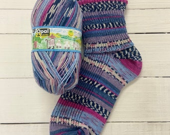 Knitted Bouquet 11040 - 25 years of Opal - SUPERWASH - 4 ply Sock Yarn - by Opal