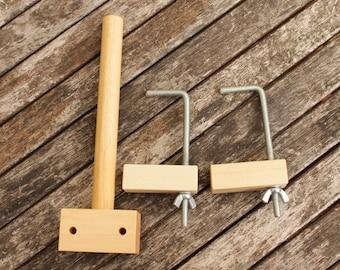 Warping Peg  - weaving tool - direct warping - large skein winding