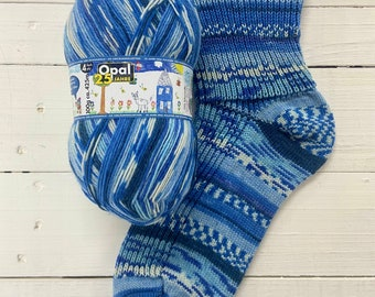 Funny Party Games 11046 - 25 years of Opal - SUPERWASH - 4 ply Sock Yarn - by Opal