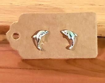 DOLPHIN Sterling Silver Earrings
