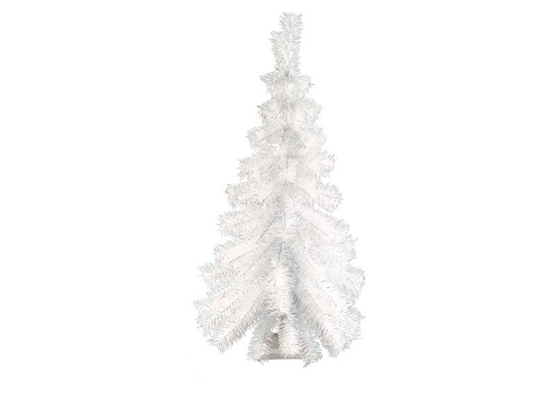 3ft White Christmas Tree.3ft White Hanging Wall Christmas Tree Classic White Tinsel Tree Half Cut Wall Decor 36 White Feather Tree Vintage Retro Christmas