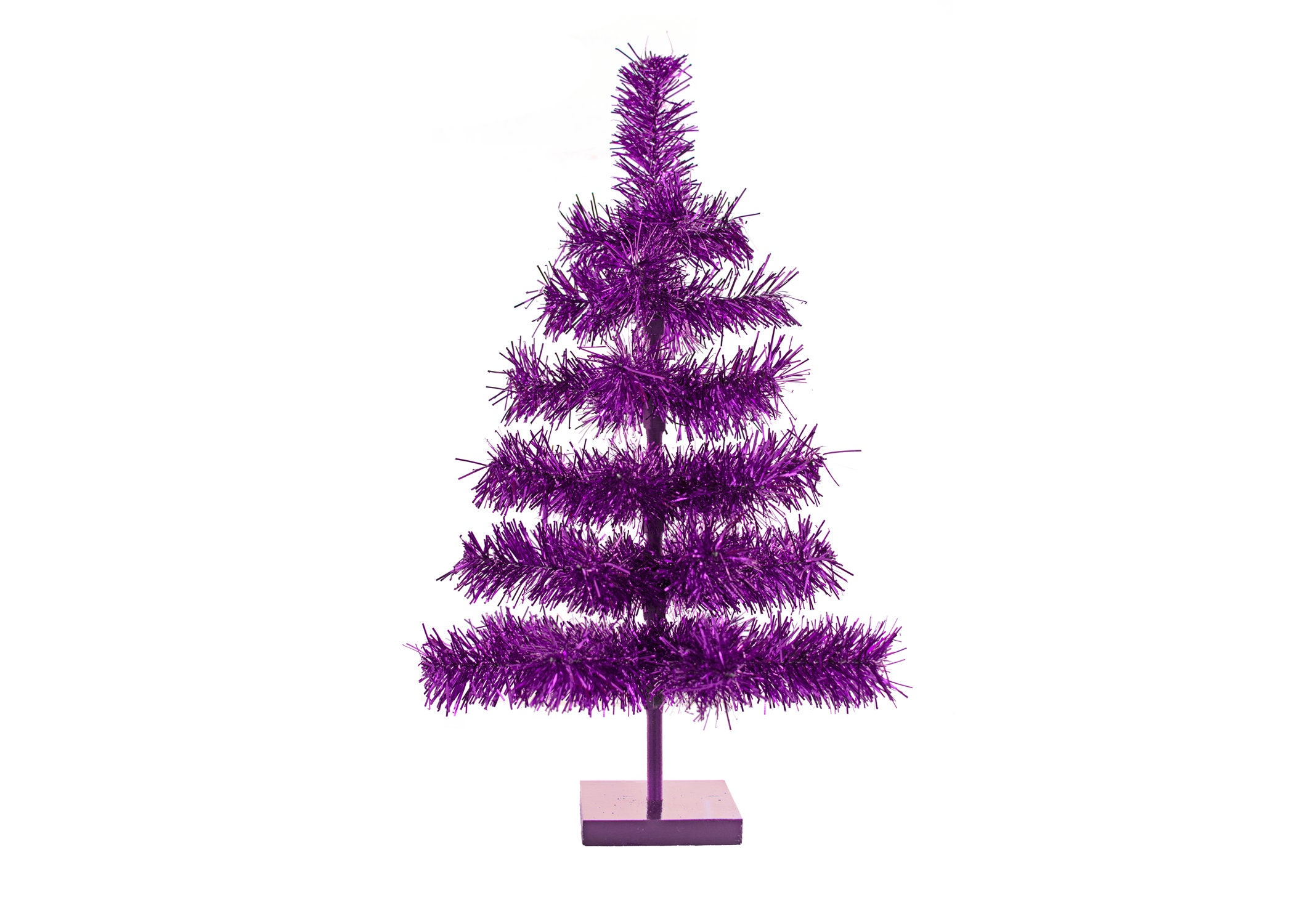 18/'/' Pink Barbie Tinsel Tree Christmas Holiday Tree 1.5FT Table-Top XMASS