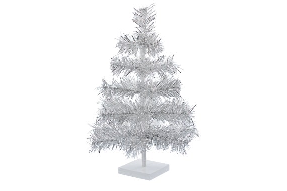 Tinsel Christmas Tree.18 Silver Feather Tinsel Christmas Tree Table Top Centerpiece Tree 18 Retro Silver Tinsel Christmas Tree 1 5ft Vintage Feather Style Xmass
