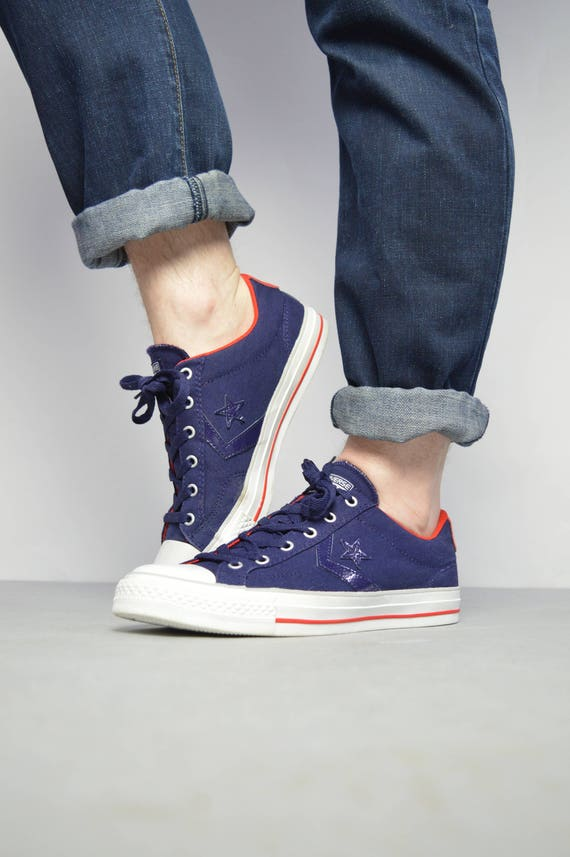 Converse Chuck Taylor All Star vintage Wash Black Blue Red
