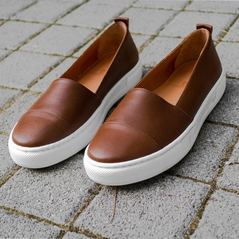 Designer Loafer ShoesLoafer Shoes Women brown leather loafer  3848c2abb