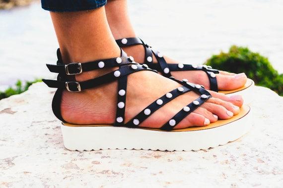 4f6699e8ee0df Women Leather Gladiator Sandal Next Generation