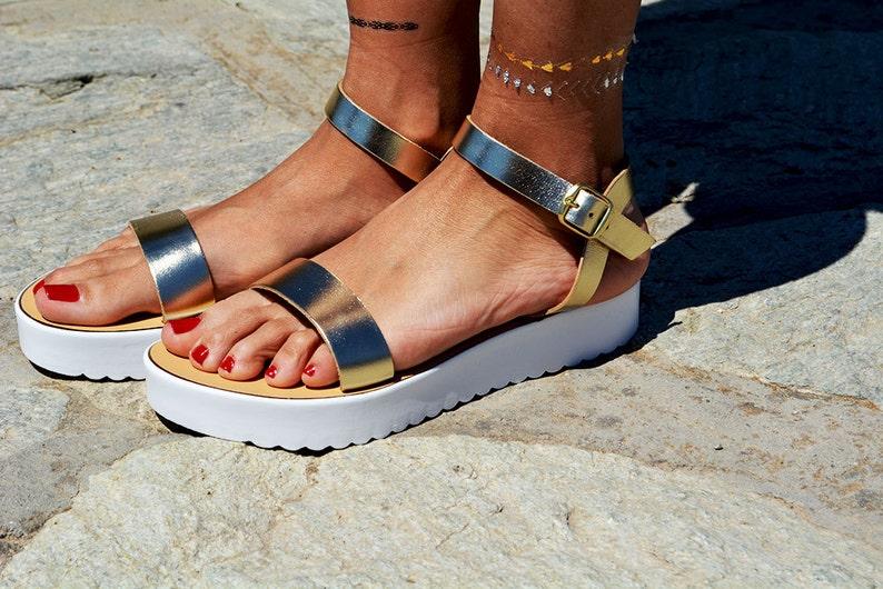 0f20e92d7b5 Leather women Sandal shoes Aphrodite sandals