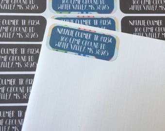 Matilda Jane Return Address Labels for Trunk Keepers