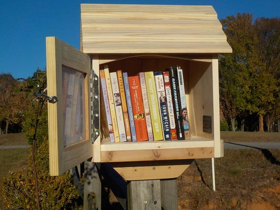 Library Book Exchange Box Little Neighborhood Library Best