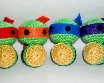 Crochet Ninja Turtle
