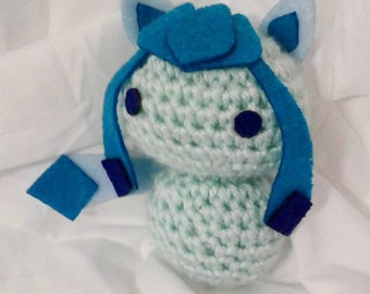 Crochet Glaceon