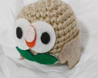 Crochet Rowlet