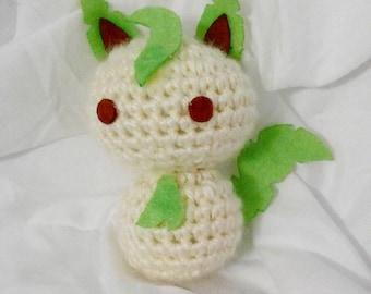 Crochet Leafeon