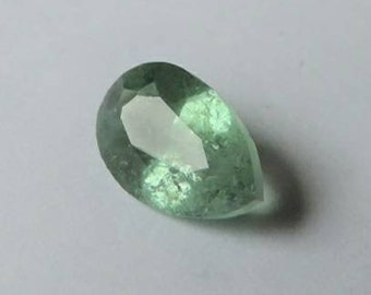 Chromiferous Prismatine 0.85ct. Kornérupine 7.7x4.9x3.3mm. If. Kenya. Port offered.