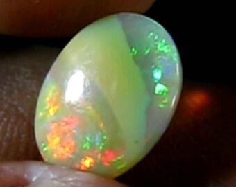 Opal Welo 3.21ct of Ethiopia 12x8.9x6.2mm. Unheated.