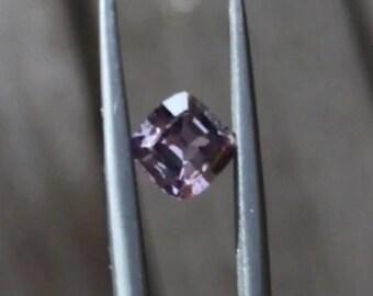 Grenat has color change 0.61ct. Dimensions: 4.9x4,8x2.8mm.