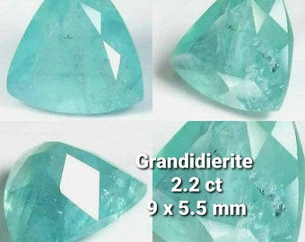 Booked, not available. Madagascar's 2.2ct 2.2ct grandidier. Port offered.