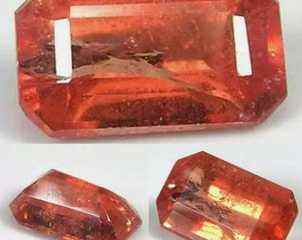 Triplite 0.7ct brazil 6.3x3.7x2.8mm. Rare gem of collection. #TRP2004